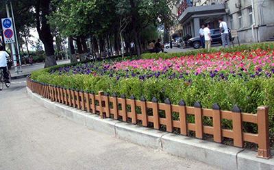 pvc花坛护栏