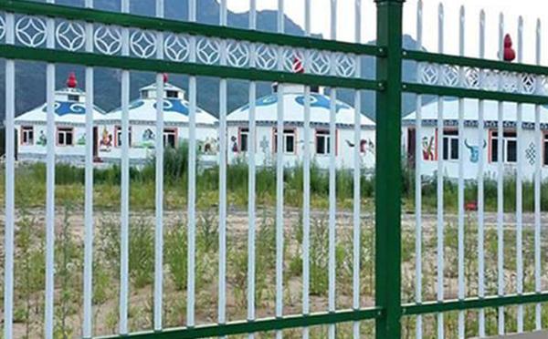 锌钢护栏案例