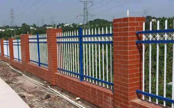 锌钢围墙案例